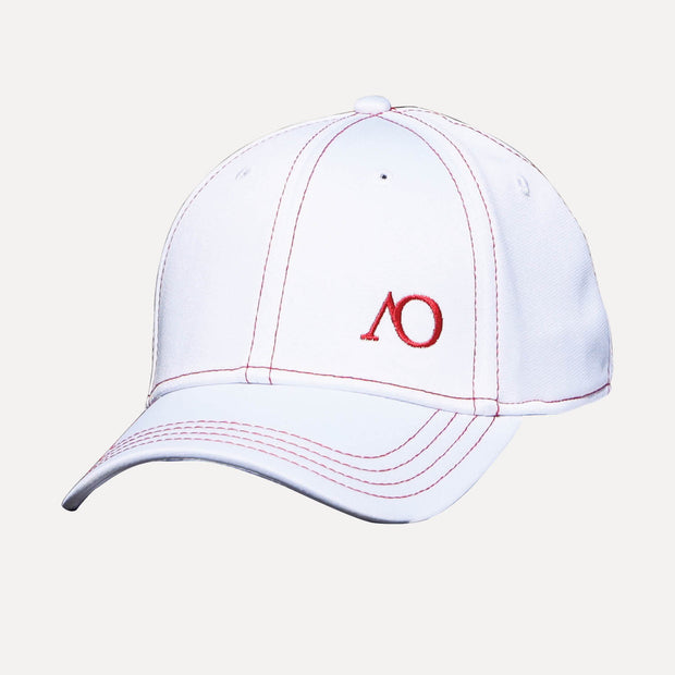 NATION FITTED AO - WHITE/RED