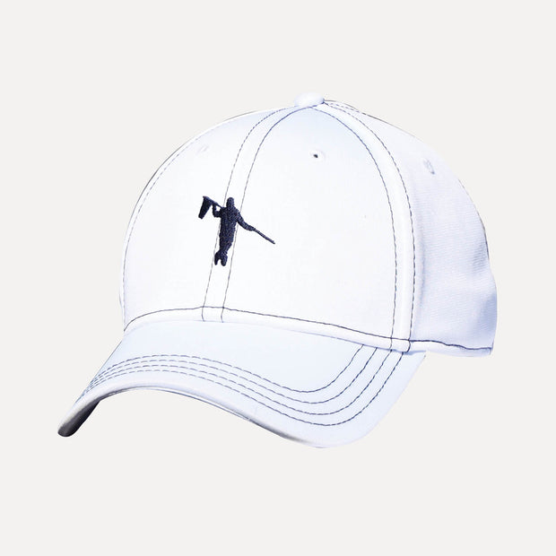 NATION FITTED LOOPER - WHITE