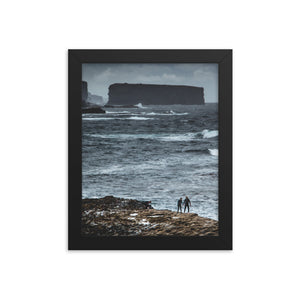 Bishops Rock - Framed photo paper poster