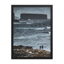 Load image into Gallery viewer, Bishops Rock - Framed photo paper poster