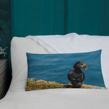 Load image into Gallery viewer, Summer Puffin - Premium Pillow