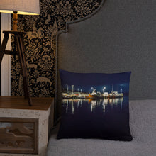 Load image into Gallery viewer, Night Harbor - Basic Pillow