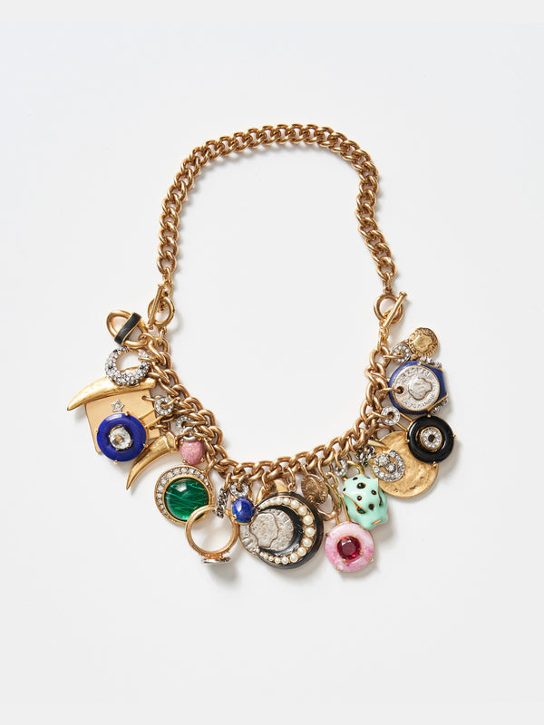 Cornucopia Convertible Charm Necklace