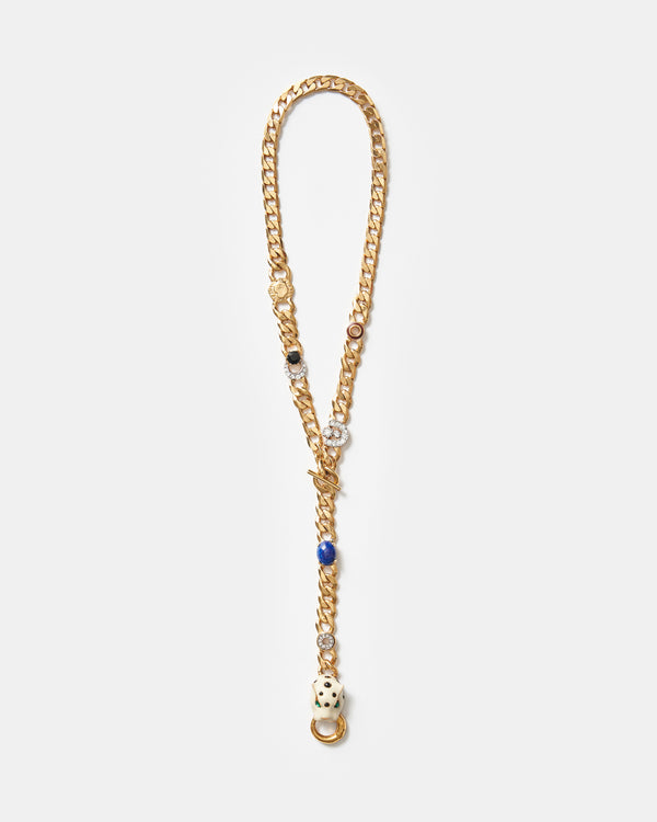 Gato Lariat Necklace