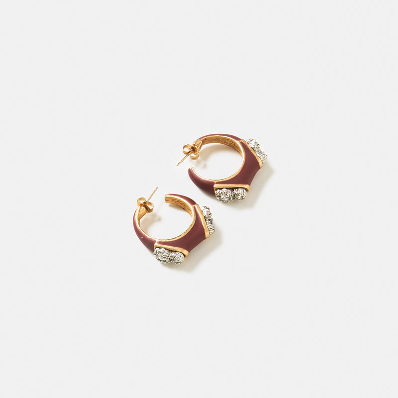 Twin Comet Earring