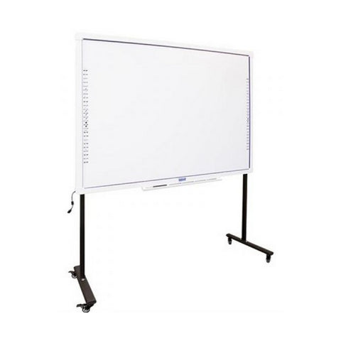 Interactive Whiteboard + Stand with Wheels iggual IGG314388+314364 82""