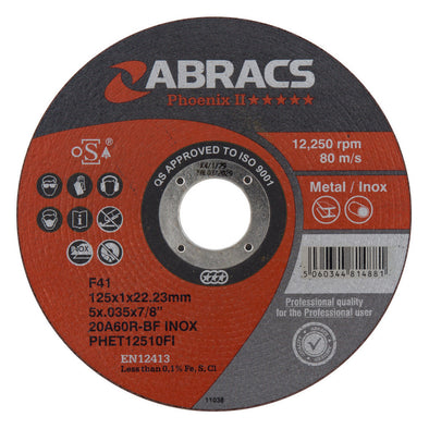 Abracs Phoenix II Extra Thin Cutting Disc