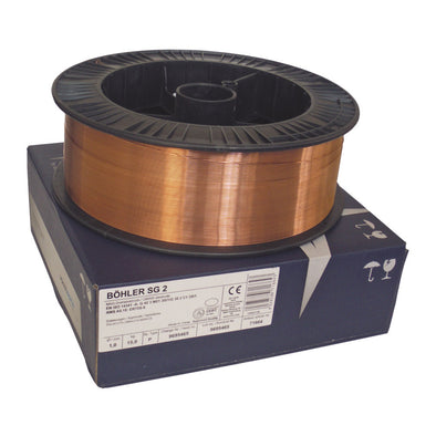 Bohler SG2 Copper Coated A18 G3Si1 Mig Wire