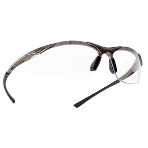 Bolle Contour Safety Glasses Clear Lens