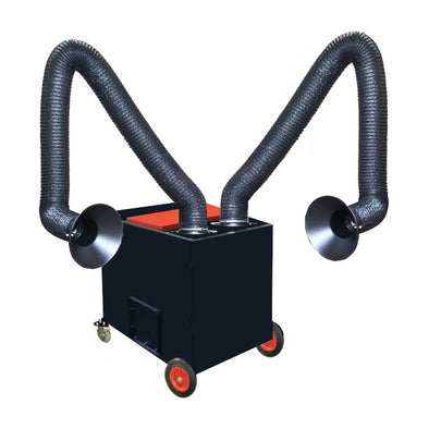 Electac EM20 Dual Arm Welding Fume Extractor