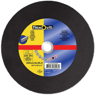 Flexovit Chop Saw Cutting Disc For Steel