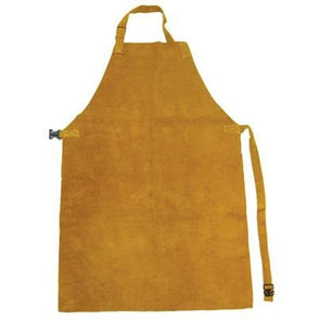 Gold Leather Welding Apron