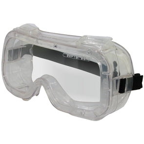 Clear Indirect Safety Goggles