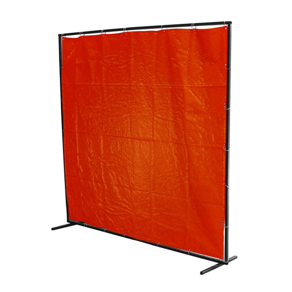 Orange PVC Welding Screen