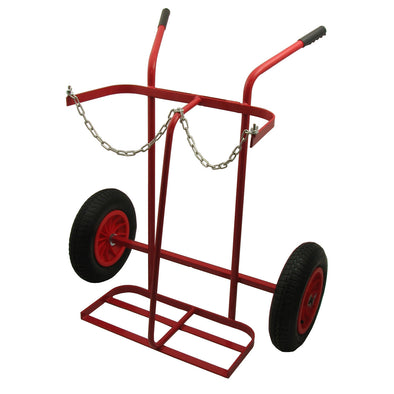 "Twin Cylinder Trolley 16"" Tyres"