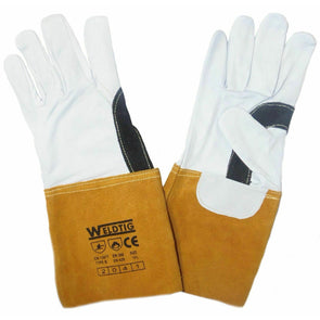 Gold Tig Gauntlet Gloves