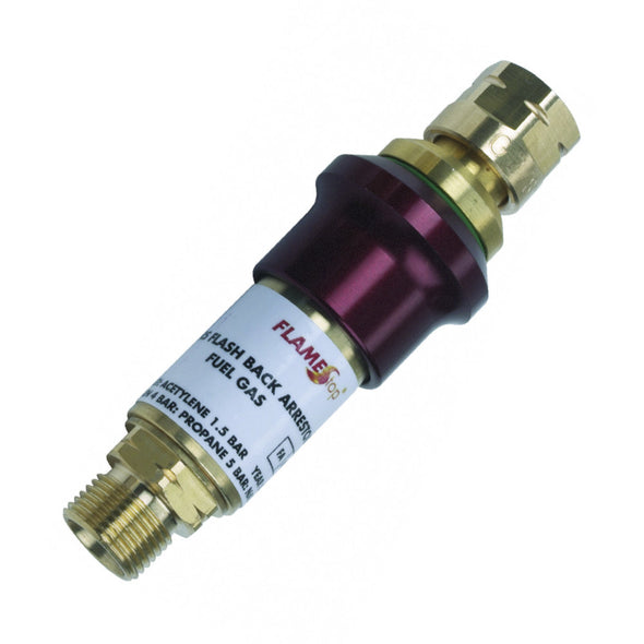 Resettable Flashback Arrestor