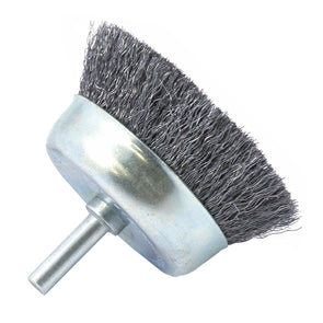 Spindle Mounted Wire Cup Brush