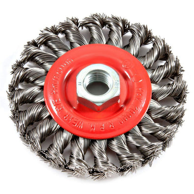 Twist Knot Wire Wheel Brush
