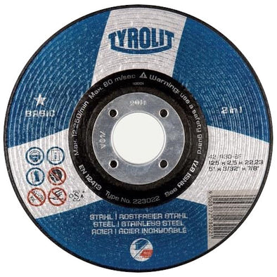 Tyrolit DPC Metal Cutting Disc