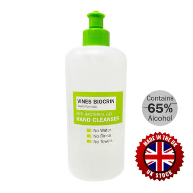 Vines Biocrin Anti Bacterial Hand Gel 450ml