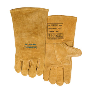 Weldas Bucktan Wide Body Welding Gauntlet