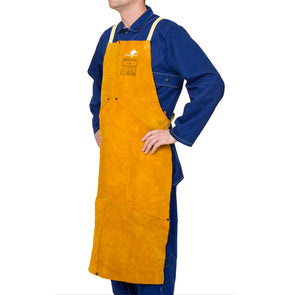 Weldas Golden Brown Welding Apron