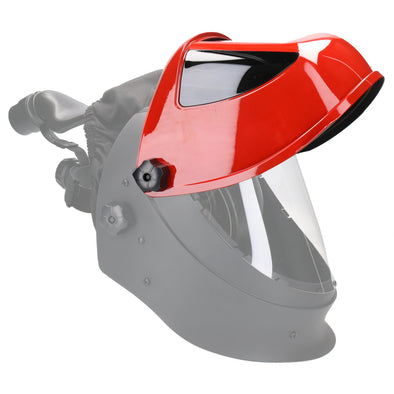 Weltek Navitek S4 Red Flip Up Helmet Section