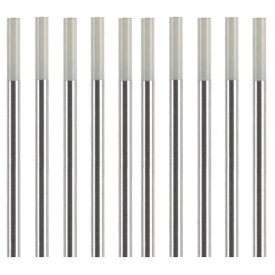 Zirconiated Tungsten Electrodes (Pack of 10)