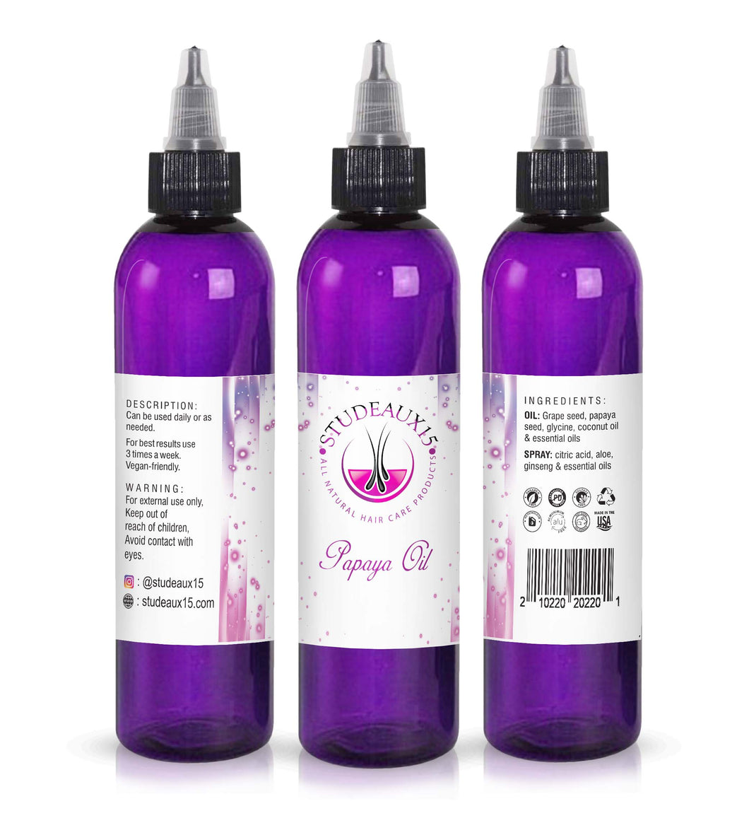 Papaya Hair Growth Oil