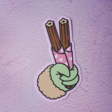 Churro Sticker