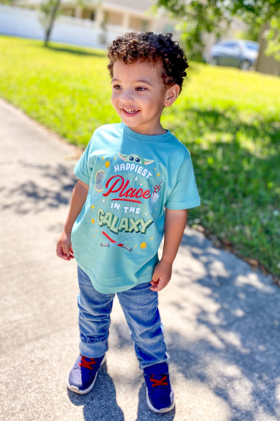Galaxy Toddler Tee