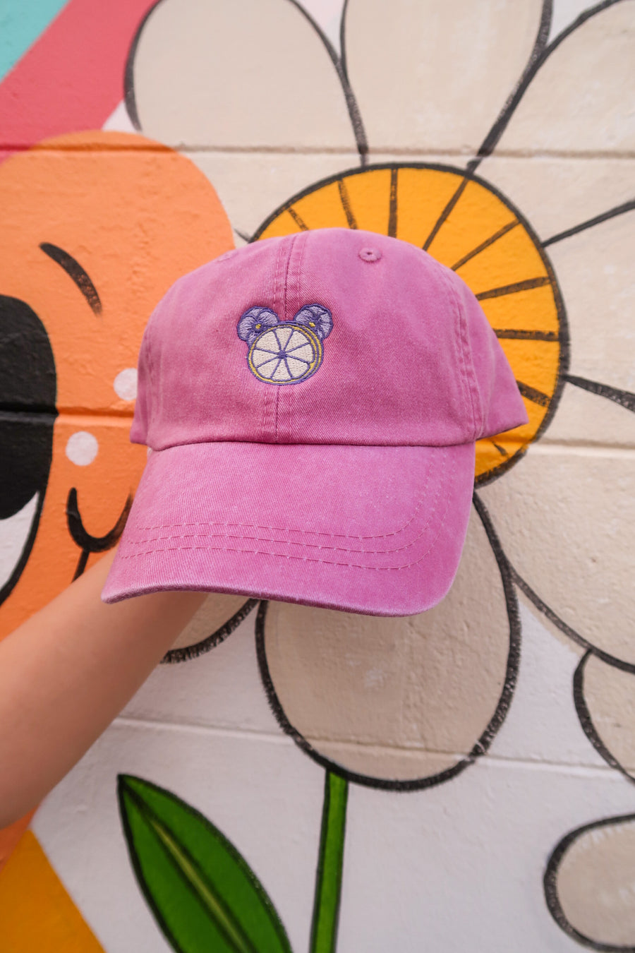Violet Lemonade Hat