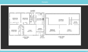 Full Service Virtual Tour Package With Floor Plan
