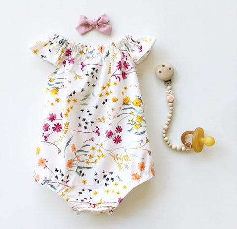 Marigold Romper or Swing top