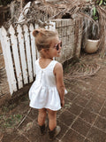 Peplum top and Bloomers set