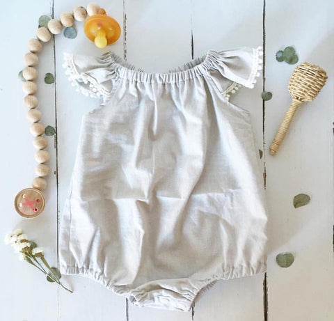 Pebble Romper or Swing Top- organic cotton
