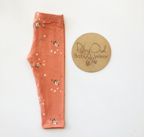 Autumn Bloom Leggings