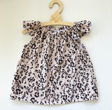 Animal print Rayon swing top or dress