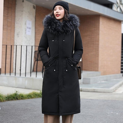 PinkyIsBlack -30 Degrees Snow Wear Long Parkas Winter Jacket - City Chick Fashions LLC