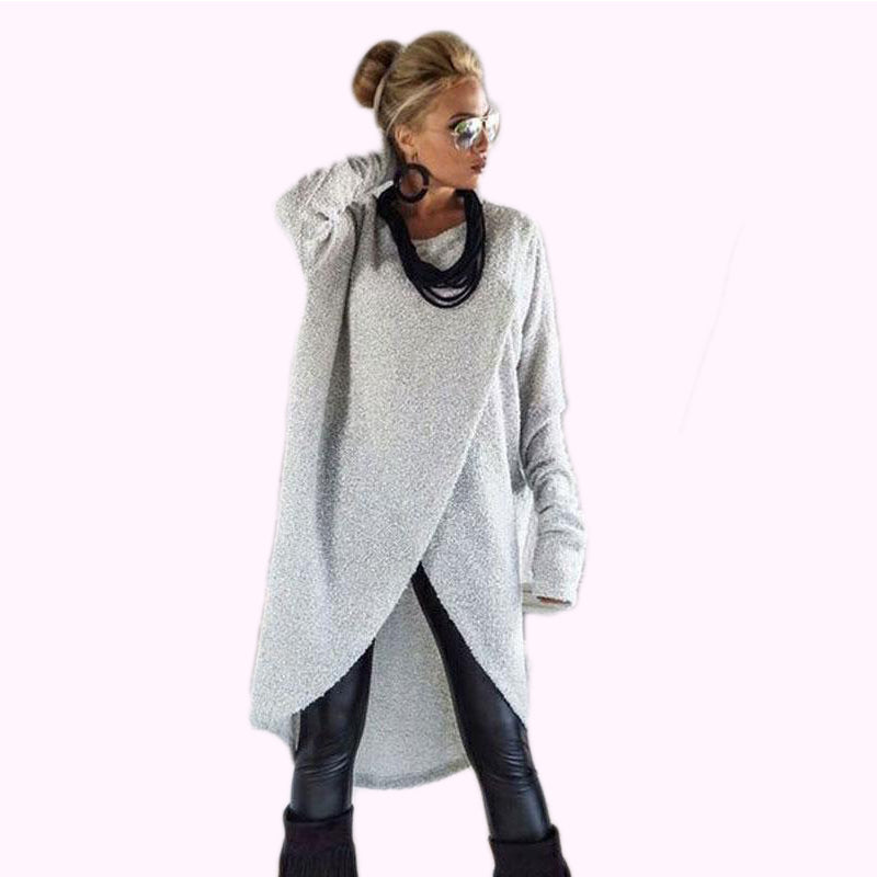 Women Long Sleeve Sweater Casual