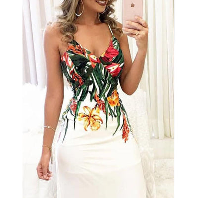 2018 New arrival Hot Sexy Charming Women's Summer Boho Casual Long Maxi Party Cocktail Beach Dress Sundress - City Chick Fashions LLC