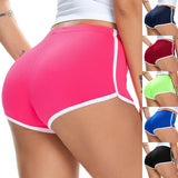 New summer ladies shorts hot shorts European and American women's sexy running stretch sports shorts - City Chick Fashions LLC