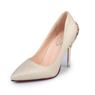 Sexy High Heels Shoes for Woman  Red Gold Silver Elegant Pumps - City Chick Fashions LLC