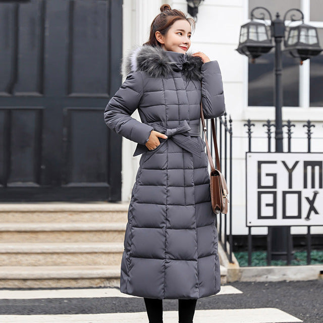 X-Long New Arrival Fashion Slim Women Winter Jacket Cotton Padded Warm Ladies Coat - City Chick Fashions LLC