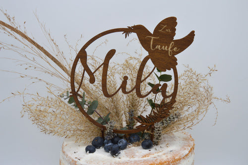 Cake Topper Taufe I Kommunion