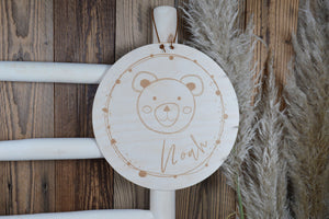 Holzschild Kindermotive mit Name