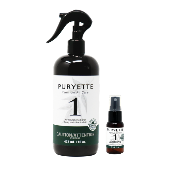 PURYETTE No. 1 - Air Revitalizing Spray for Cannabis and Smoke Odors