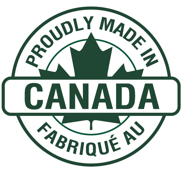 Proudly Made In Canada.