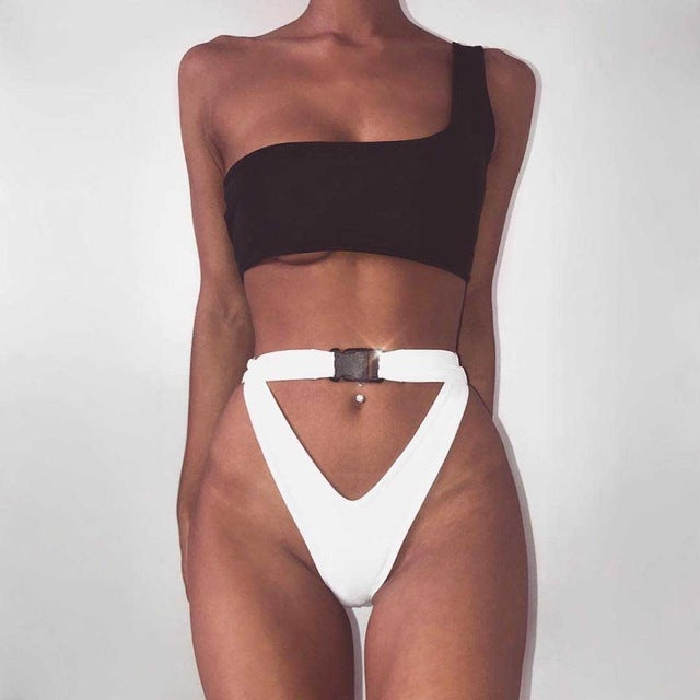 Triangle Hole Bikini